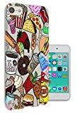 ice cream ipod case - C0807 - Cool Cartoon Junk Food Hotdog Frappe Burger Pizza Coffee Chips Popcorn Taco Ice Cream Design Apple ipod Touch 5 Fashion Trend CASE Gel Rubber Silicone All Edges Protection Case Cover