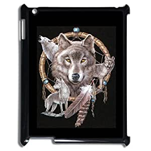 ALICASE Diy Cover Custom Case Wolf Dream Catcher For IPad 2,3,4 [Pattern-1]