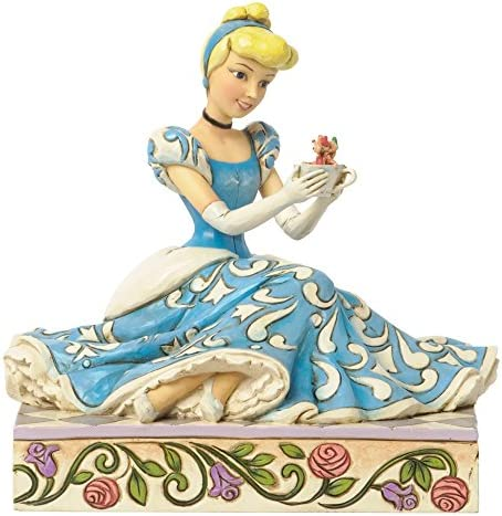 Disney Traditions by Jim Shore Cinderella Figurine Caring And Courageous 4037511
