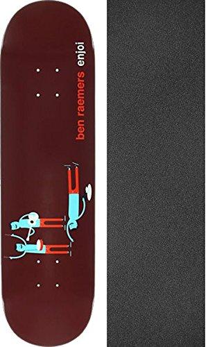 拒絶被る着飾るEnjoi Skateboards Ben RaemersエンジョイX Jim Houserスケートボードデッキresin-7 – 8.25