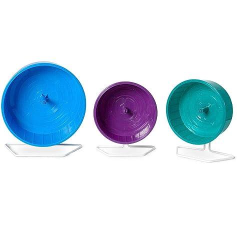 Rueda de metal para h/ámster 1 unidad colores surtidos Nobby 17.5 cm