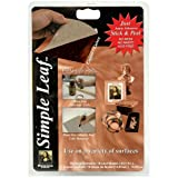 Speedball Art Products Mona Lisa Copper Simple Leaf, 18 Sheet Pack