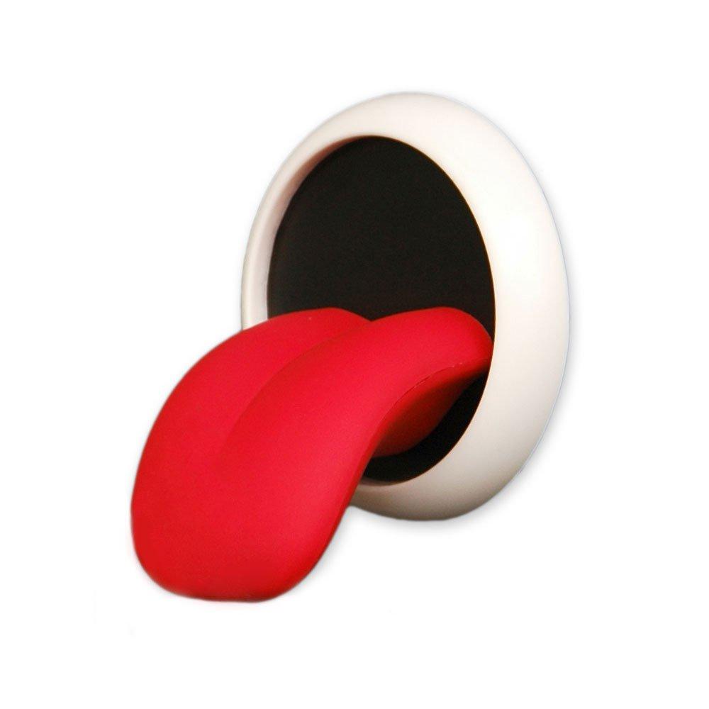 tenuta extra forte Supporto magnetico portachiavi a forma di lingua tiene 15 chiavi stile Rolling Stones da parete