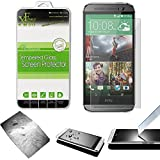 Xtra-Funky Serie HTC One M8 Ultra Fine 0.26mm Alta qualità Reale 100% Protezione Genuina Dello Schermo in Vetro Temperato 9H Resistente ai Graffi - Tempered Glass