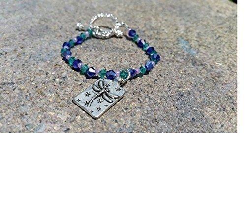 [Girls Dragonfly Charm Bracelet / Kids Jewelry / Dragonfly Bracelet / Costume Jewelry / Dragonfly Girl Jewelry / Little Girl Dragonfly] (Fly Costumes)