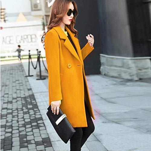 Femme Trench Young Haute Slim Unicolore Styles Mode Longues Qualit Classique Fit Casual Automne Manteau Printemps De rr0dHw