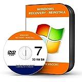 "Re INSTALL Repair Restore WINDOWS 7 ""PROFESSIONAL"" Edition 64 Bit PC Laptop Computer DVD CD Disc Disk"