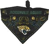 NFL Jacksonville Jaguars Pet Bandanna, Small