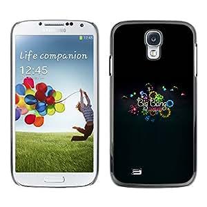 // PHONE CASE GIFT // Duro Estuche protector PC Cáscara Plástico Carcasa Funda Hard Protective Case for Samsung Galaxy S4 / Big Bang Mini /