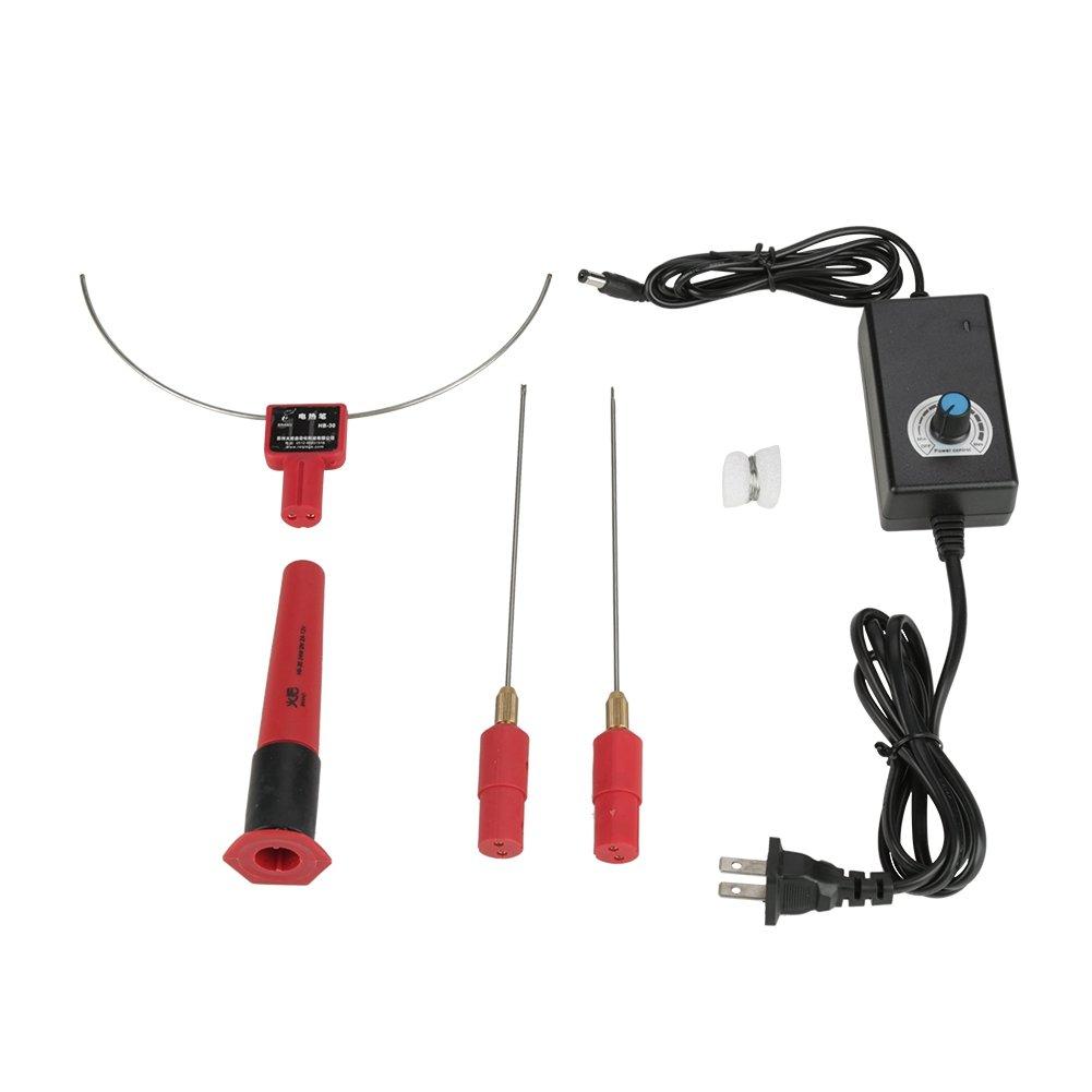Sheens Foam Polystyrene Cutting, Hot Wire Foam Cutter Electric Heat Cutting 100-240V Foam Cutter Hot Cutting Pen (US Plug 100-240V) by Sheens