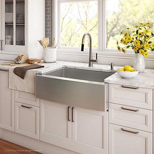 Kraus Apron Stainless Steel Kitchen Sink