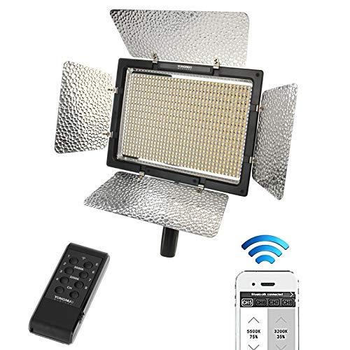 KMLP YONGNUO YN900 900pcs LEDイルミネーション調光スタジオ3200K - 5500Kビデオライト   B07PTQLYWV