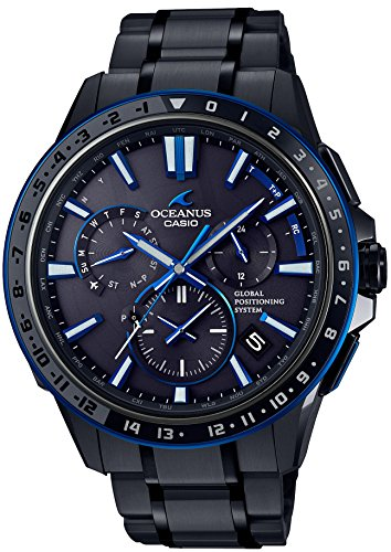 CASIO(OCEANUS)「GPS HYBRID WAVE CEPTER Smart Access TOUGH MVT.」 OCW-G1200B-1AJF --JAPAN IMPORT by Premium-Japan