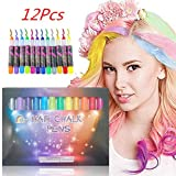 Temporary Hair Color Dye Pens, Beyond Hair Chalk Pens,Non-Toxic Washable Hair Color Comb for Both Wet and Dry Hair - Boys & Girls Perfect Gift