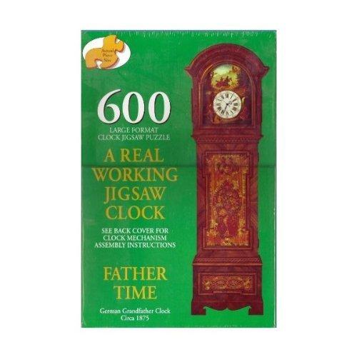 A Real Working Jigsaw Clock 600 Pieces Large Format [並行輸入品] B07BTXWDPR