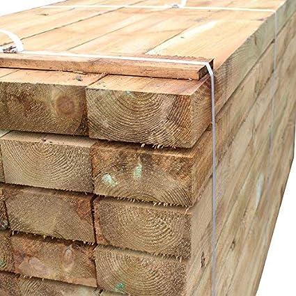 color negro Pack de 10 soportes rectos de madera para macetero de madera con bordes elevados