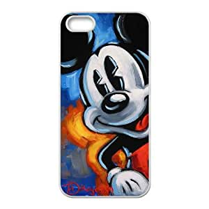 iPhone 4 4s Cell Phone Case White Disney Mickey Mouse Minnie Mouse 007 CVXEYERTE12865 Cell Phone Case For Girls Plastic