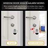Door Window Alarm, WOHOME Wireless Burglar Alarm