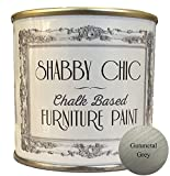 Gunmetal Grey Chalk Based Furniture Paint great for creating a shabby chic style. 250ml by Shabby Chic Furniture Paint
