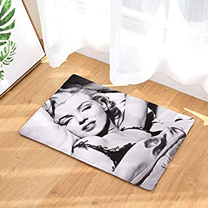 Amazon.com : D-Cute Hot Welcome Waterproof Floor Mat Marilyn ...
