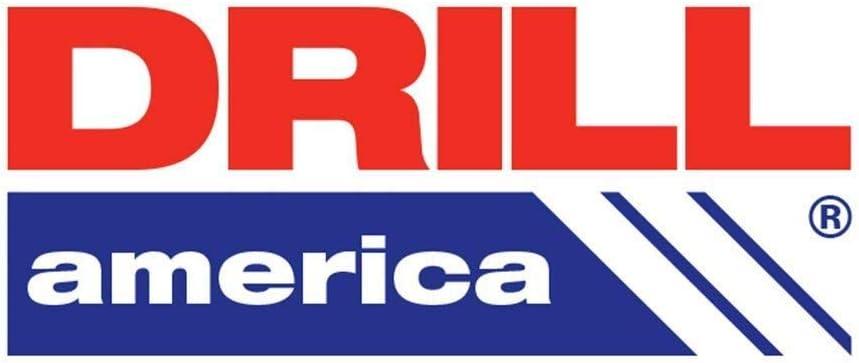 Drill America #17 x 12 High Speed Steel Aircraft Extension Drill Bit DWDA//C Series