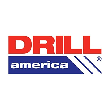 Drill America 1//2 High Speed Steel Straight Shank Spiral Flute Chucking Reamer DWR Series
