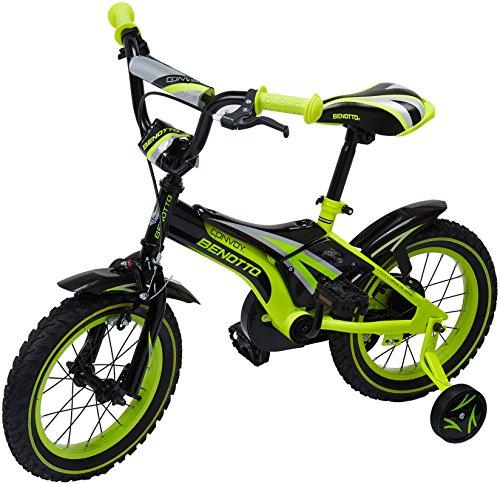 Benotto CRHCON1401UNNE Bicicleta de Acero Rodada R14, Niño, 1 Velocidad