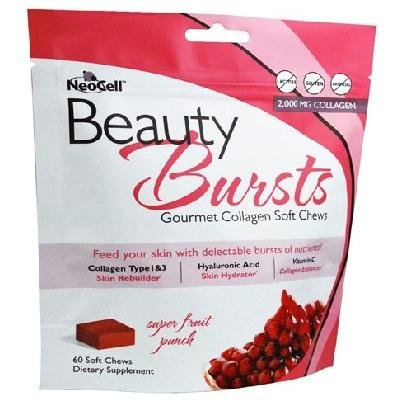 - Neocell Corporation Beauty Bursts Chew Frtpnch 1x 60 CT