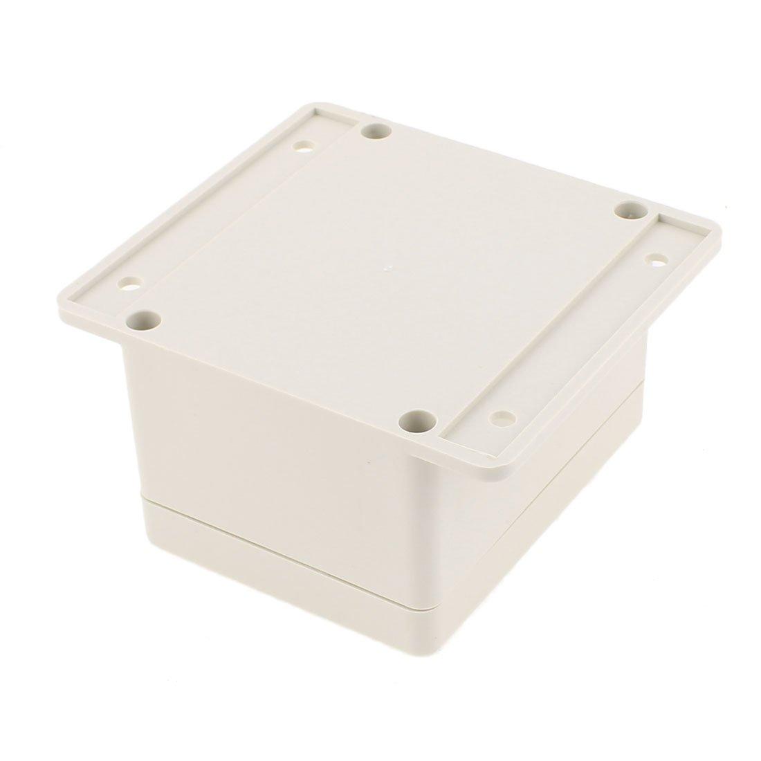 sourcingmap Bricolaje Caja de Conexiones Terminal de Pl/ástico Sellada Antipolvo IP65 130mm x 90mm x 68mm