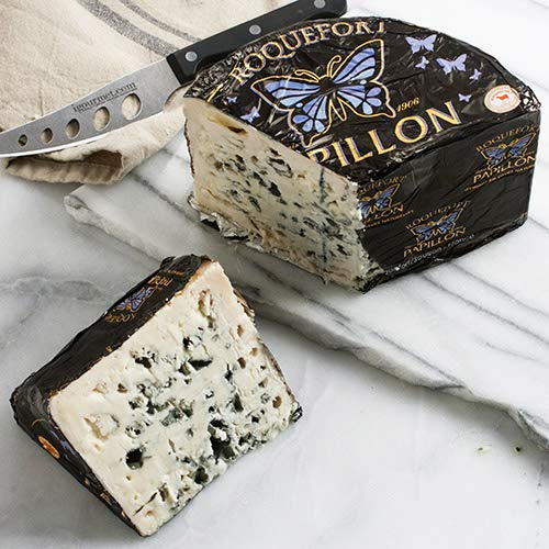 (Roquefort AOP Papillon Black Label Half Moon (3 pound) )