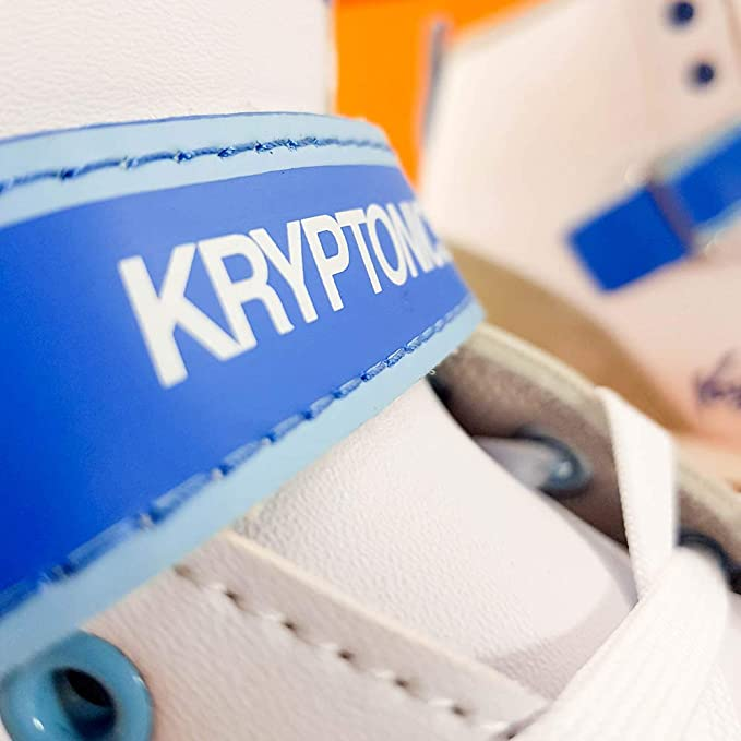 Kryptonics - Patinete de Ruedas Blitz (Blanco/Azul): Amazon ...