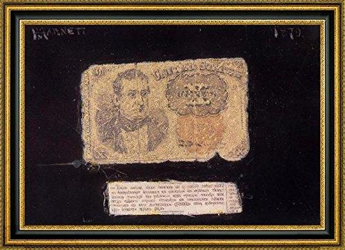 still-life-ten-cent-bill-by-william-michael-harnett-19-x-28-framed-canvas-art-print-ready-to-hang