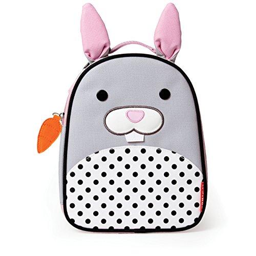 (Skip Hop Zoo Kids Insulated Lunch Box, Bunny,)