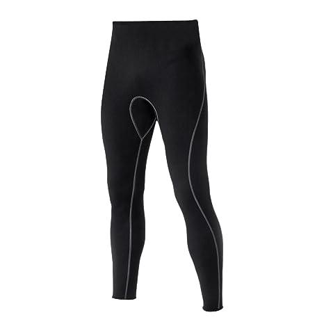Traje de Buceo Neopreno Cómodo Cálido Pantalones Largos Snorkel Scuba Surf Piragüismo Kayak Pesca