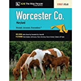 Worcester County, MD Atlas, ADC, the Map People Staff, 0875300588