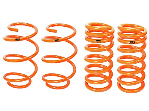 aFe Control 410-301001-N Ford Mustang GT (S550) Lowering Springs (Ford Mustang Lowering Springs)