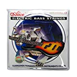 Alice Electric Bass Strings Set 5 String Medium Steel Nickel Wound