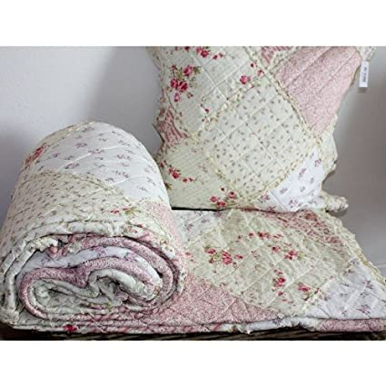 Clayre Eef Plaid.Clayre Eef Bedspread Q023 061 Henry Quilt Plaid 230 X 260
