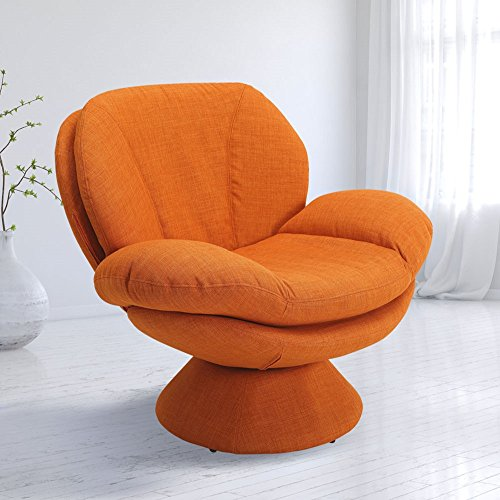 Mac Motion Orange Comfy Reading Chair