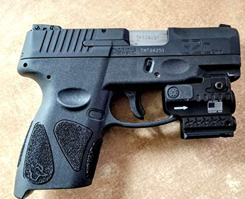 Ade Advanced Optics HG55-2 Green Laser + 250 Lumen Flashlight Sight for SW SD9VE, Ruger Security 9, HK P2000sk, Taurus G2c, pt111 g2, Canik tp9sf, Springfield XD, Walther pk380, Glock Compact Handgun
