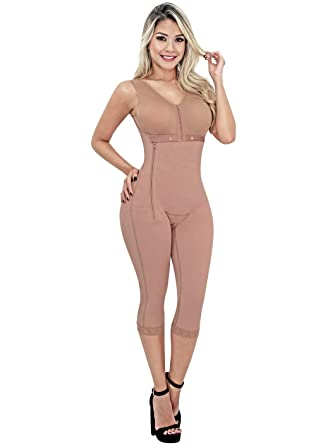 72eef9ac4863a SONRYSE 010ZL Full Body Shaper for Women Faja Colombiana Reductora Mocha  XS 30