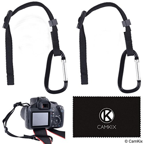 Tether with Caribinerカメラ用 2 Pack - Camera Tether + Caribiner + Tripod Screw D0479-CTL-QIS