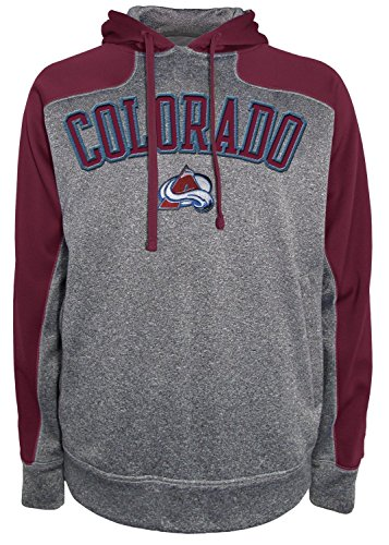 Fleece Colorado Avalanche Pullover (NHL Colorado Avalanche Men's Fit Fleece Pullover Hood, XX-Large,)