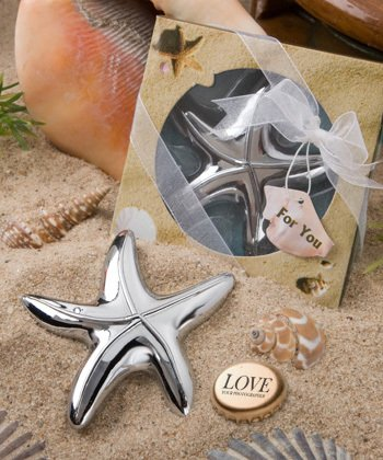 Starfish Bottle Openers Wedding Favors