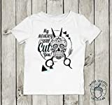 Hair Stylist Gift Baby Toddler Kids TShirt Onesie Bodysuit My Mommy Aunt to Be Daddy Announcement Uncle Choose the Relation Scissor Dresser Outfit Mothers Day Gift