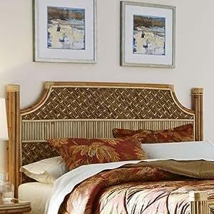 Mandalay Natural Wicker Rattan Queen Headboard Bedroom Furniture Set From Spice