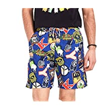 ME-JUCA Mens Swim Trunks With Pocket High Printed Board Shorts M
