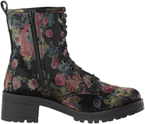 Madden Girl Womens Eloisee Combat Boot Floral-v