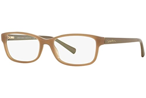 Giorgio Armani Für Frau 7062 Opal Beige Kunststoffgestell Brillen, 54mm