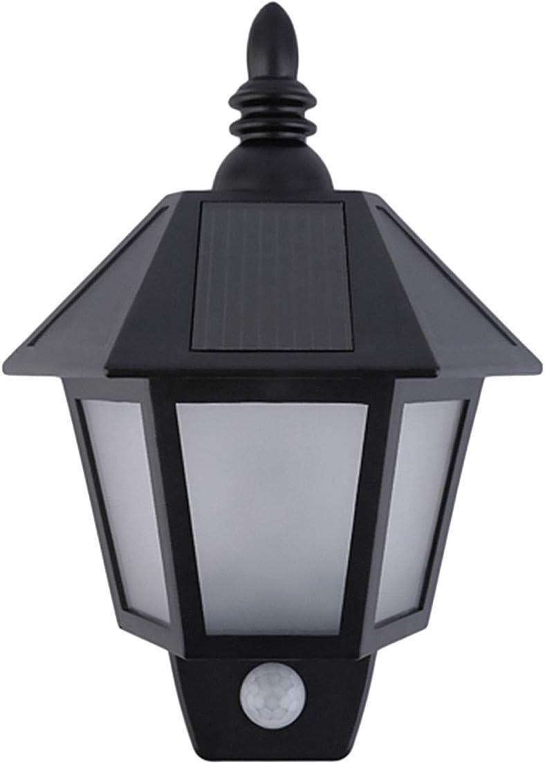 Solar Motion Sensor Light Outdoor, MAYSAK LED Wall Mount Sconce Light Landscape Security Lighting Lamp Dusk to Dawn Light Waterproof for Garden Yard Patio Porch Fence